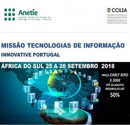 IT Mission to South Africa from September 25 to 28 2018